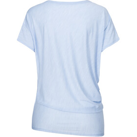 super.natural Yoga Camiseta suelta Mujer, azul